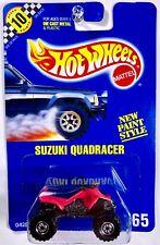 Hot Wheels #165 Suzuki QuadRacer, Bright Pink