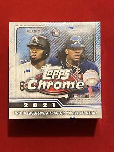 2021 Topps Chrome MLB Baseball Megabox NEW Factory Sealed