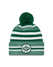 New Era NFL new York Jets Green Home 2019/2020 Sport Knit Sideline Beanie Hat