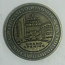 Vintage Circulated Casino Windsor Grand Opening 1993 $1 Coin Token Metal Chip