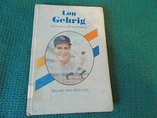 LOU GEHRIG IRON MAN OF BASEBALL Americans All series