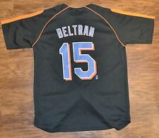 New York Mets Jersey NIKE Carlos Beltrane #5  Black Youth Medium 12/14