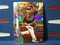 2020 Topps Chrome Sepia Refractor #8 Brendan McKay RC Rookie Tampa Bay Rays