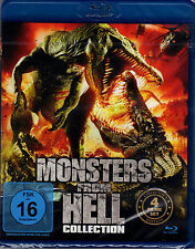 Monsters from Hell Collection - Blu-ray  - 4 Filme - neu & ovp
