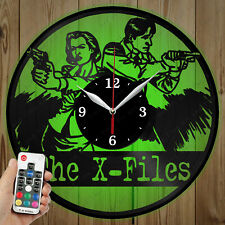 LED Vinyl Clock The X-Files LED Wall Art Decor Clock Original Gift 2756