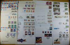 Lettland Latvia 1991-2010 Sammlung FDC Ersttagsbriefe + Ganzsachen 350 Belege
