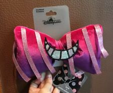 HKDL Hong Kong Disney Alice Chester Cat Bow InterChangeable Hairband Minnie