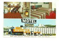 HOTEL, MOTEL, RIVIERE DU LOUP, QUEBEC, CANADA CHROME POSTCARD