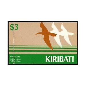 Kiribati 392A,396 booklet,MNH. Brown noddies,Curlews,1985