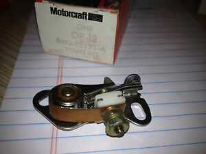 FORD NOS IGNITION POINTS B8Q-12171A DP-12 Shelby MUSTANG  TORINO FAIRLANE