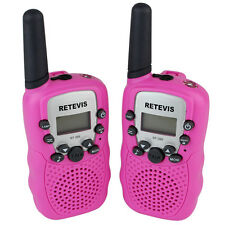 New A pair Rt-388 Kids gifts Walkie Talkie 0.5W 2-Way Radios Uhf 22Ch Ctcss/Dcs