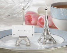 48 Eiffel Tower Paris Wedding Place Card Holders Favors