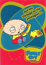FAMILY GUY SEASON 1 2005 INKWORKS PROMO CARD P3