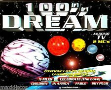 CASx2 - 100% Dream - Various (TRANCE & AMBIENT) PRECINTADO *MINT & SEALED LISTEN