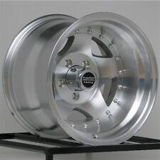 "15 Inch Wheels Rims Import Truck Toyota Isuzu GM Chevy Truck 6 Lug 15x10"" 6x5.5"