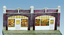 Wills SS18 - Station Forecourt Shops- 1/76 Scale = 00 Gauge Plastic Lineside Kit