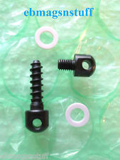MOSSBERG 500 SLING STUD SCREW SET For REAR And FRONT w/ .25 inch threaded stud