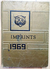 1969 HIXSON JUNIOR HIGH SCHOOL YEARBOOK, THE IMPRINTS, HIXSON, TN