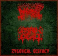 ABHORER / BRAIN DEAD -SPLITCD- ZYGOTICAL ECSTACY