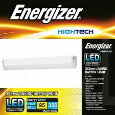 4w Energizer LED che collega Batten in armadio cucina Armadio STRIP LIGHT 312mm