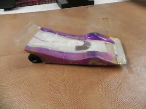 WINGED CAR ON BRASS  CHASSIS 1/24TH