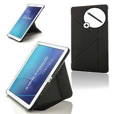 Negro Origami Smart Case funda para Samsung Galaxy Tab Dell 8.0 T375 +