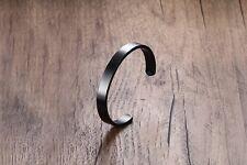 316L Stainless Steel 6mm 8mm Love Cuff Bangle Mens Womens Bracelet + Box #BR240