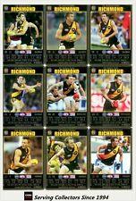 2008 AFL Teamcoach Trading Card Prize Card Team Set Richmond (11)