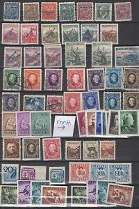Slovakia 1939 Czecho overprint till 5k MNG, Hlinka MH used last 2 rows MNH