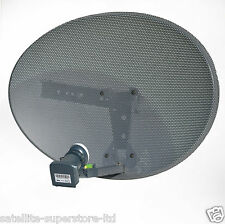 Zone 1 Sky Satellite Dish Mk4 and Quad LNB for Sky HD Plus Freesat PVR