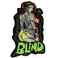 Blind Skateboard Co' - Sticker-LOGO-GIRL # 1
