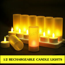 Rechargeable Candles Amp Tea Lights For Sale Ebay