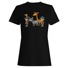 Zoo Keepers Many Animals Ladies T-shirt/Tank Top p733f