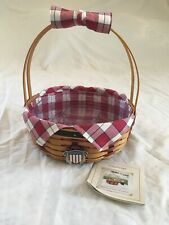 2002 Longaberger All American Casserole Basket Set
