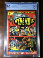 Marvel Spotlight #2 (1972) - 1st Werewolf By Night! - CBCS 8.5! (Not CGC) - Key!