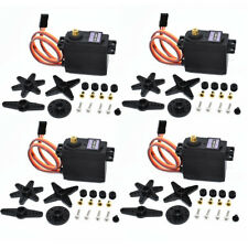 4PCS MG996R Digital Metal Gear MG995 Torque Servo For Futaba JR RC Truck Racing