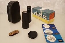Fernglas DDR Carl Zeiss Jena 7 x 50 BINOCTARMO T3M Binocular Monocular Monokular