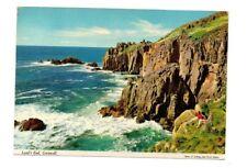 Cornwall - Land's End - Postcard Franked 1980