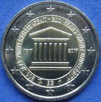 BÉLGICA BELGIEN - 2 EUROS CONMEMORATIVA  2005 - 2017 Todos los Años Disponibles