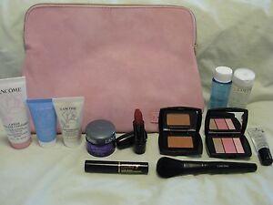Lancome Skincare & Cosmetic Set - Renergie Lift Cream, Lipstick, 2 Face Masks