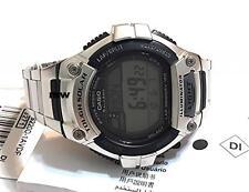 CASIO MEN'S WATCH W-S220D-1A SOLAR POWER World Time Lap Memory 5 Alarms Digital