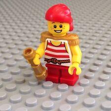 NEW / Lego Pirate Mini- Figure / Boy / Red Shirt / 70413 / Pirate Ship