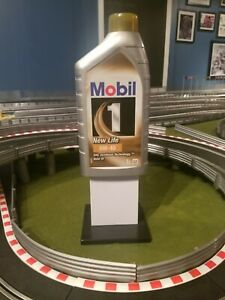 Slot Track Scenery Mobil 1 Advertisement tower
