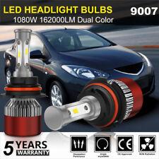 CREE 9007 1080W 162000LM LED Headlight Kits Bulbs HB5 6000K VS HID 35W 55W Fog