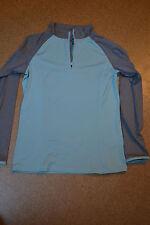 Sportshirt Takko, Colours of the World, mint-grau, Gr. M
