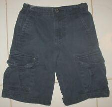 Cherokee - Size 5 Navy Blue 100% Cotton - Flat Front Cargo Shorts