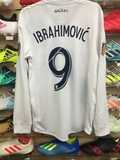 Adidas LA Galaxy Jersey #9 Ibrahimovic' Authentic Classic Size Mans Medium Only