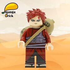 ⎡MANGA BRICK⎦ Custom Naruto Gaara Lego Minifigure