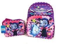 Disney Junior Vampirina 3-D Backpack and Insulated Lunchbox Set NWT