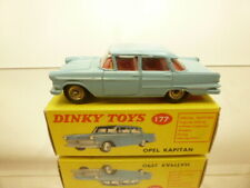 DINKY TOYS 177 OPEL KAPITAN - BLUE 1:43 - GOOD CONDITION IN BOX
